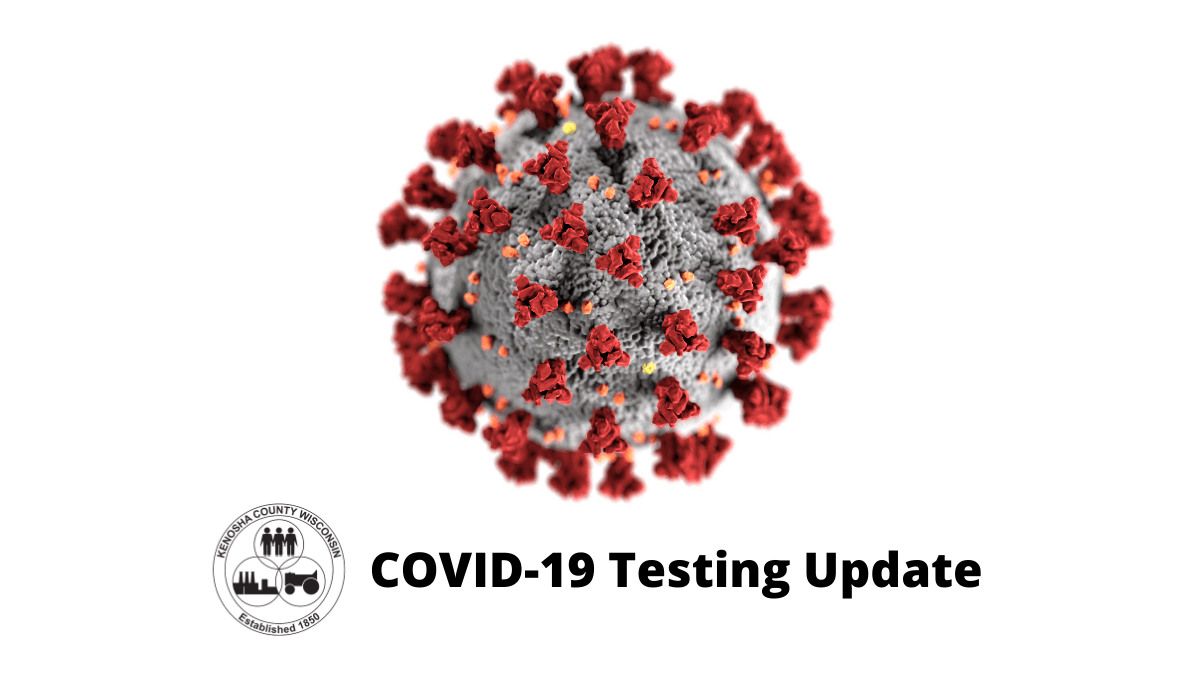 COVID-19 Testing Update graphic