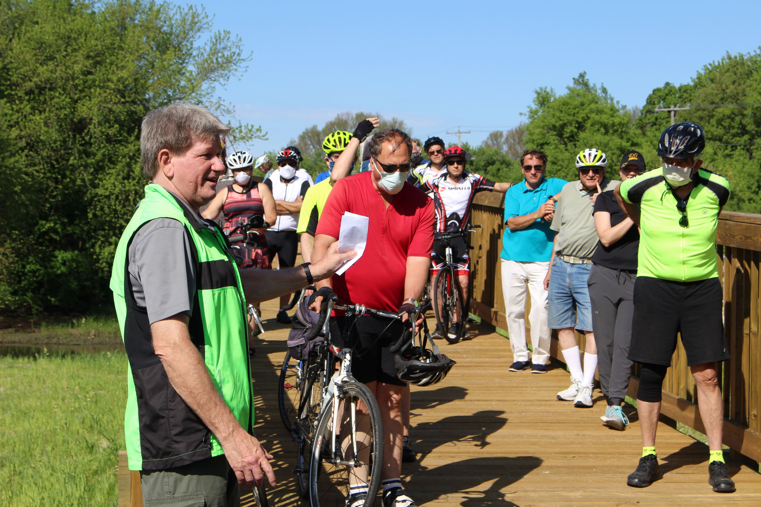 Highway C trail dedication
