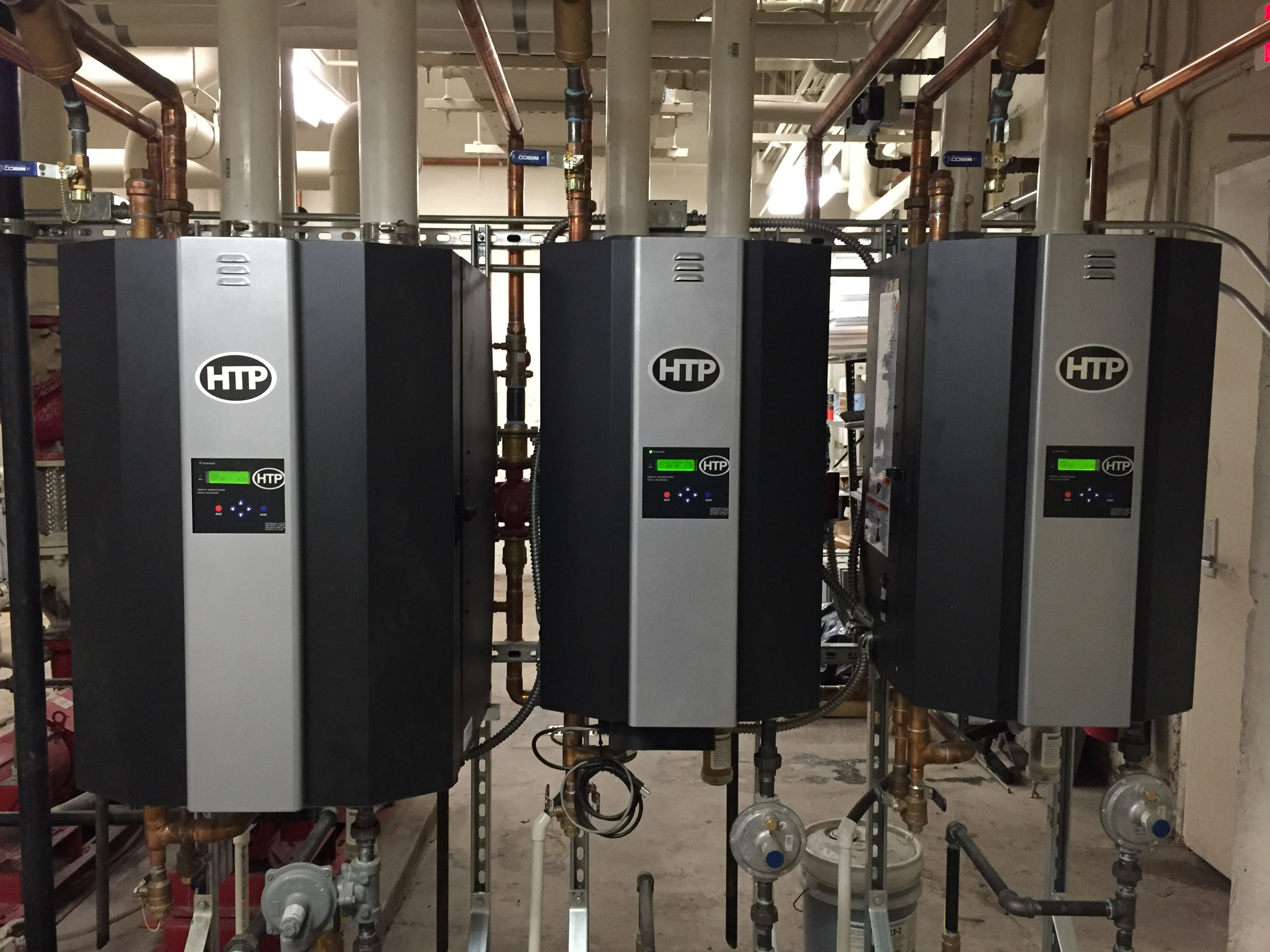 Compact Energy Efficient Boilers
