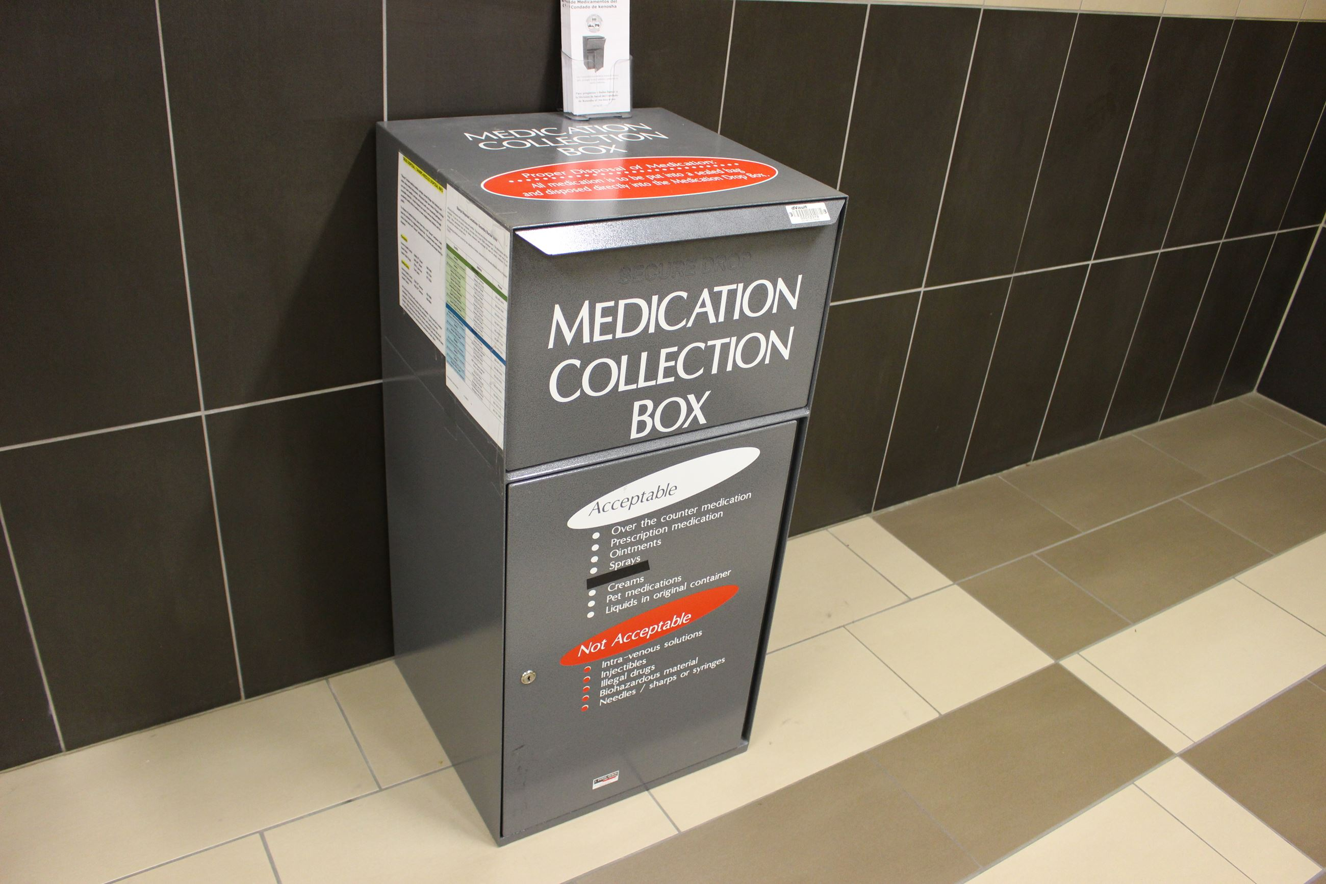 Drug collection box