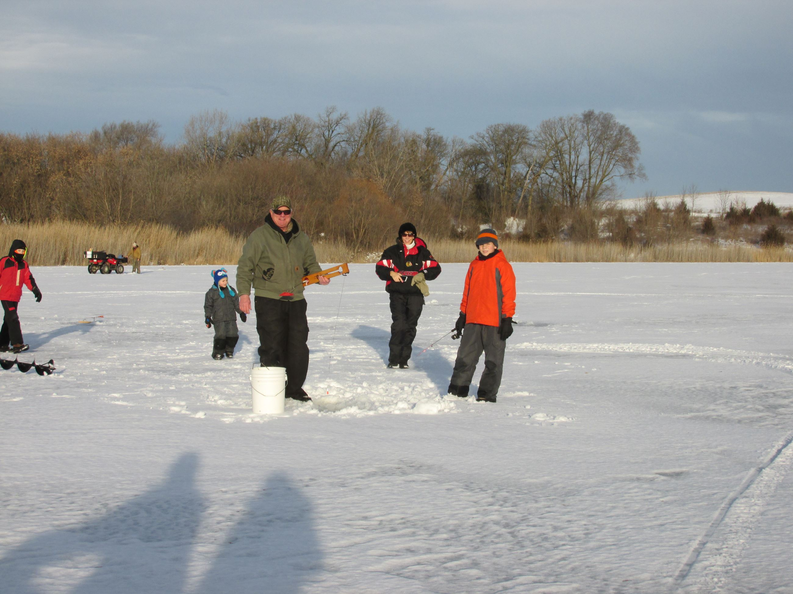 2015 4-H ice fishing derby