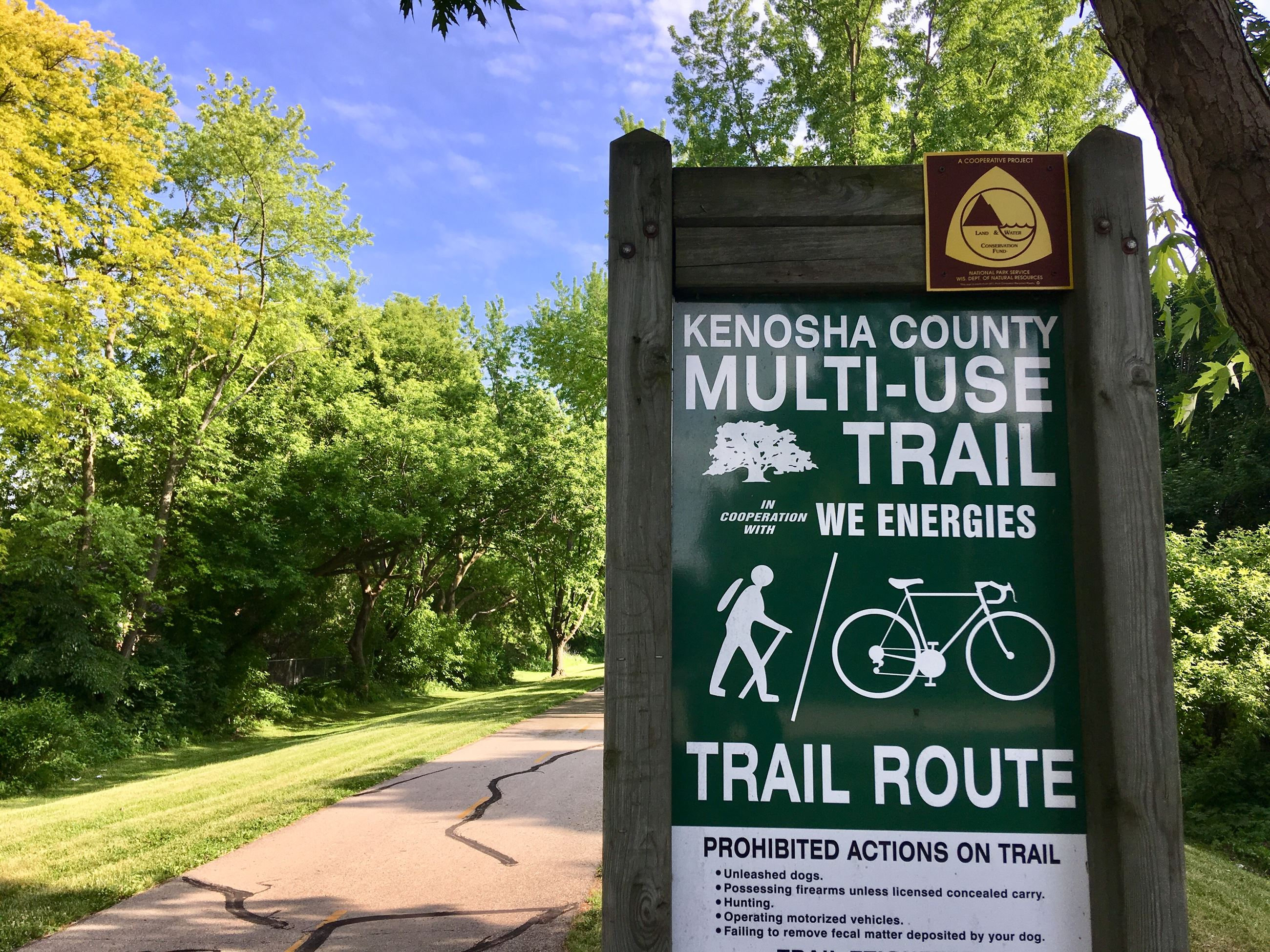 Multi-Use Trail sign