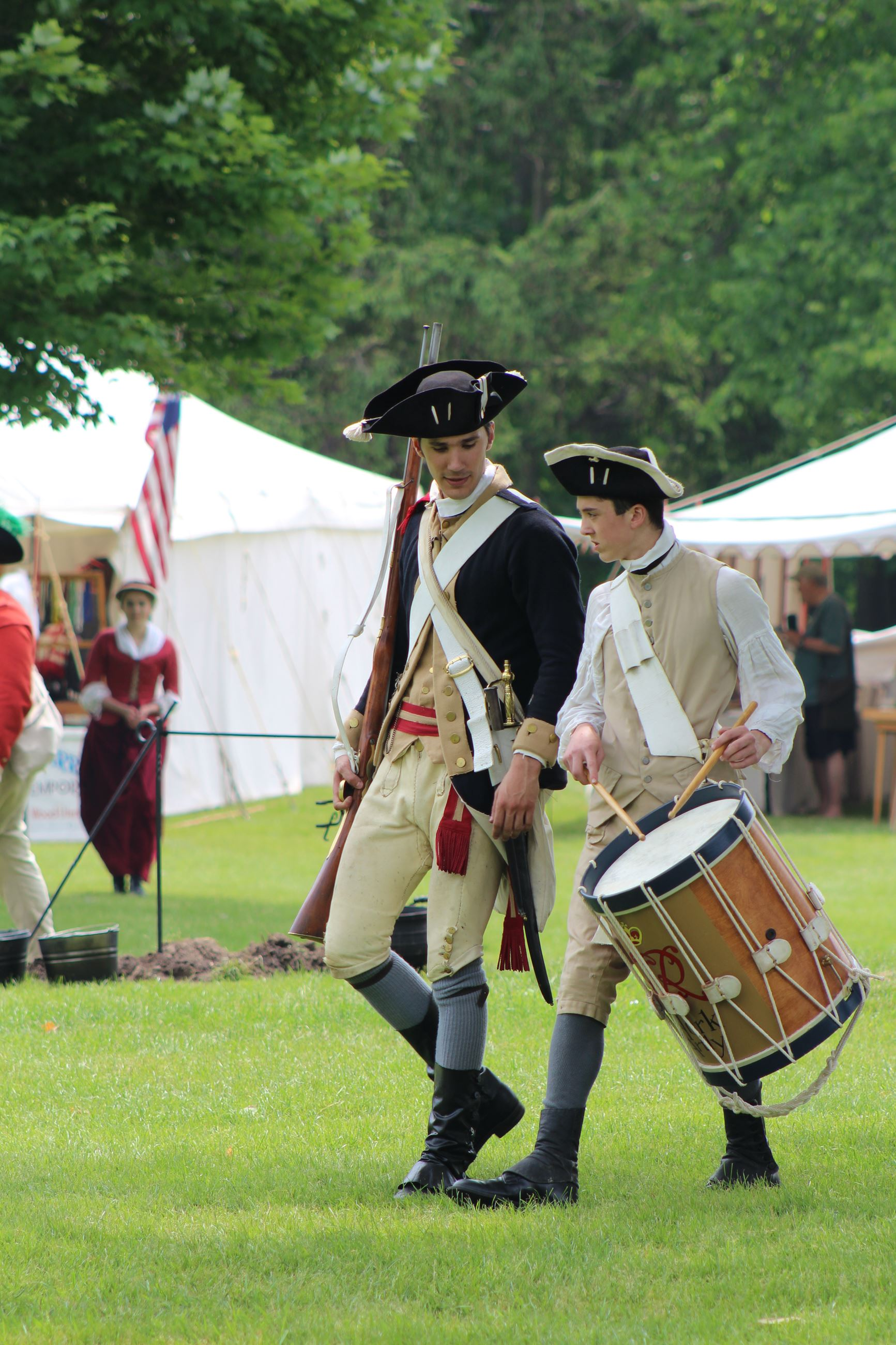 Revolutionary War Reenactment | Kenosha County, WI