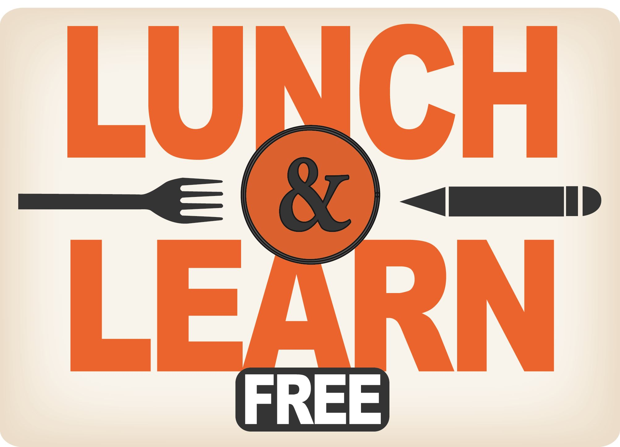 Lunch and Learn artwork