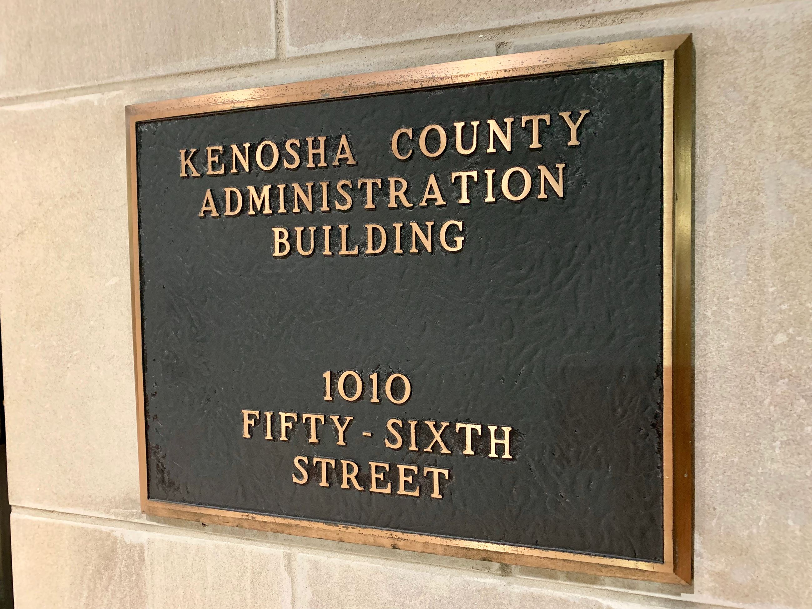 Kenosha County Administration Building sign