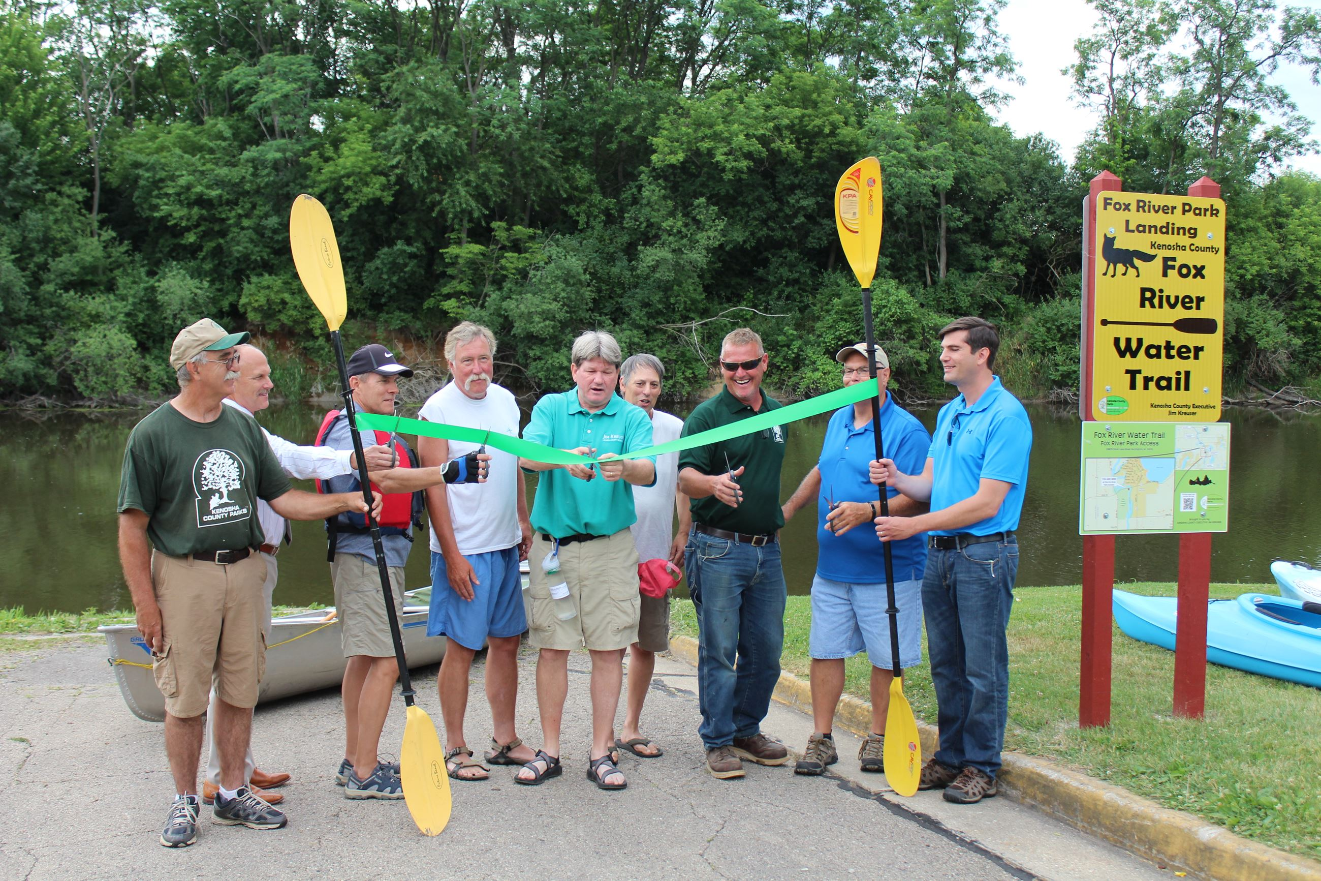 Fox River Water Trail Grand Opening