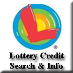 Lottery Credit Search and Information Icon