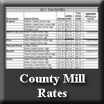 Icon to Page with County Mill Rates