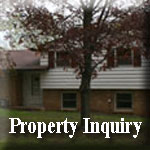 Property Inquiry Icon Displaying an image of a House
